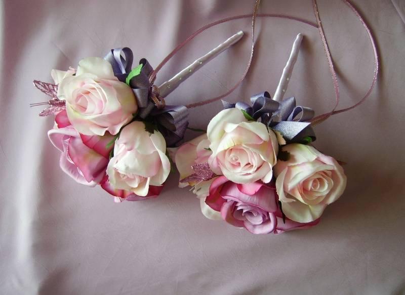 Flower Girl Bouquet Wands  #F302