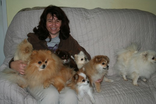 Lindsey and her Pom friends