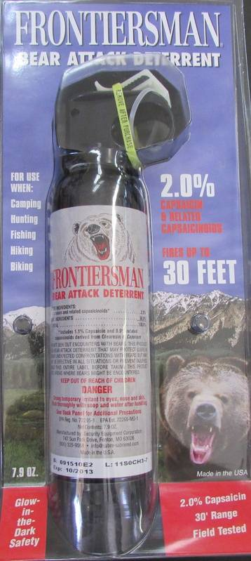 Bear Spray for Father's Day