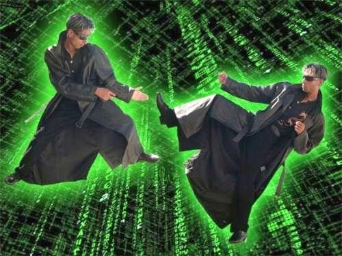 In the Matrix!