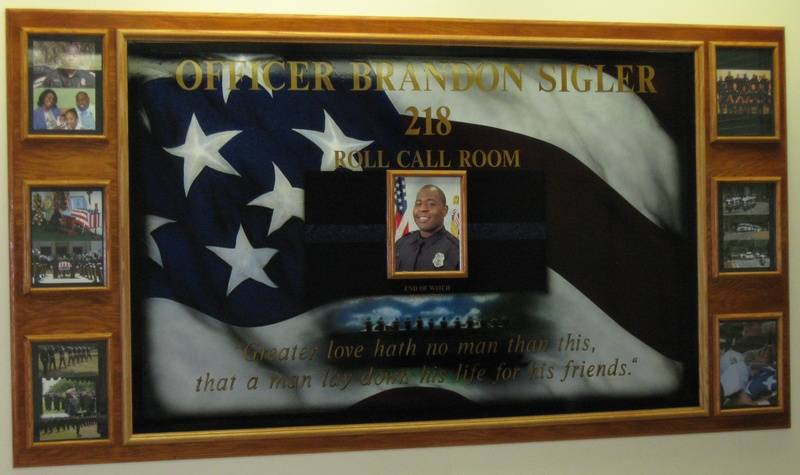 Ofc. Brancdon Sigler Memorial