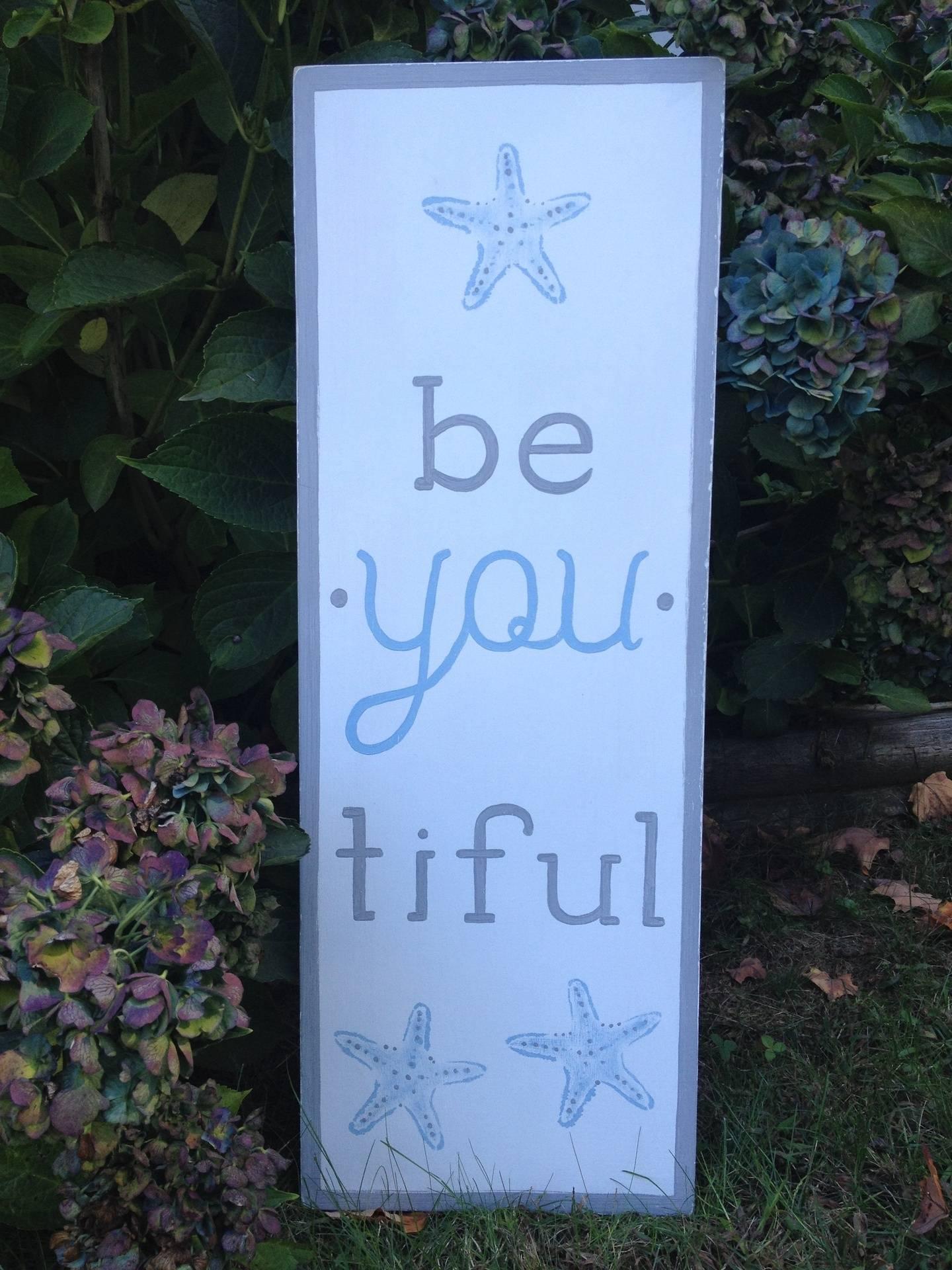 be. you. tiful