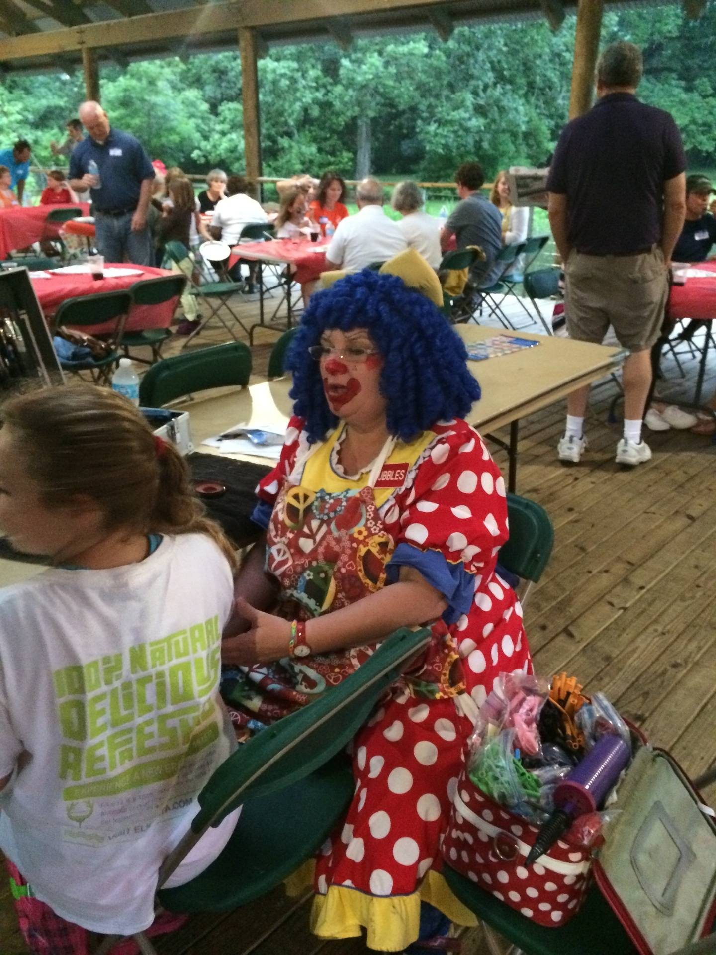 Bubbles the Clown - Face Painting