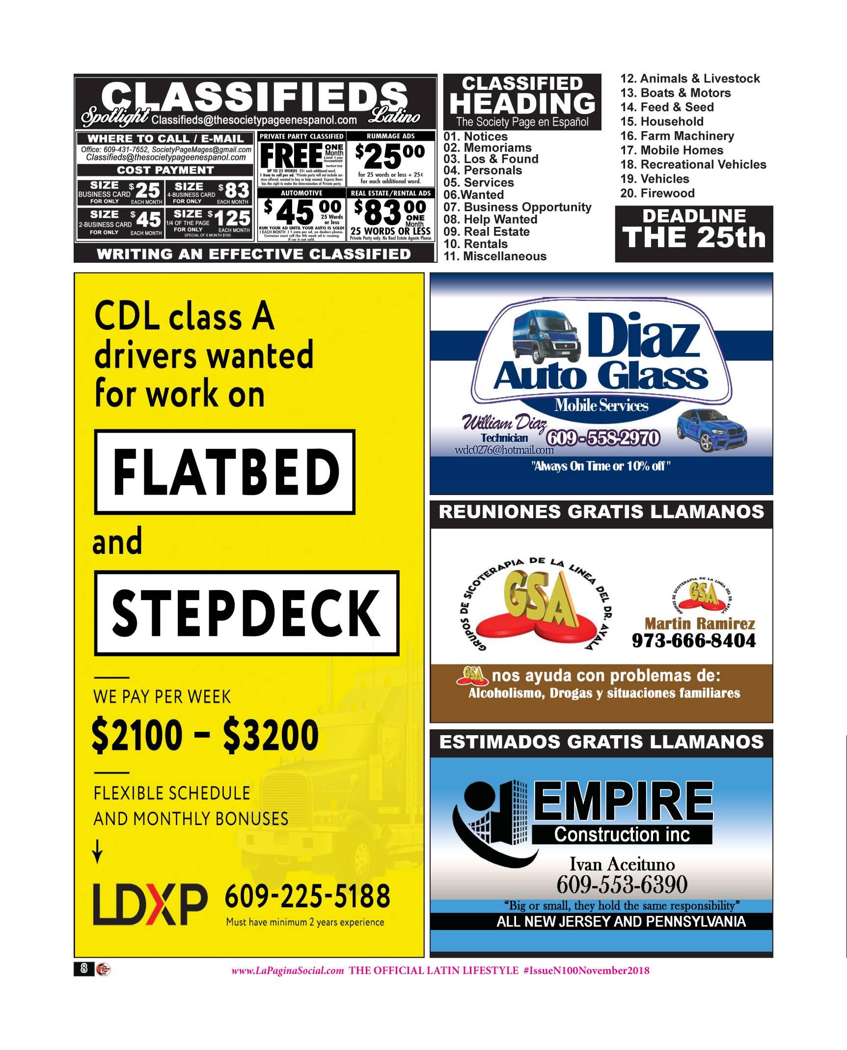CDL DRIVERS / LDXP