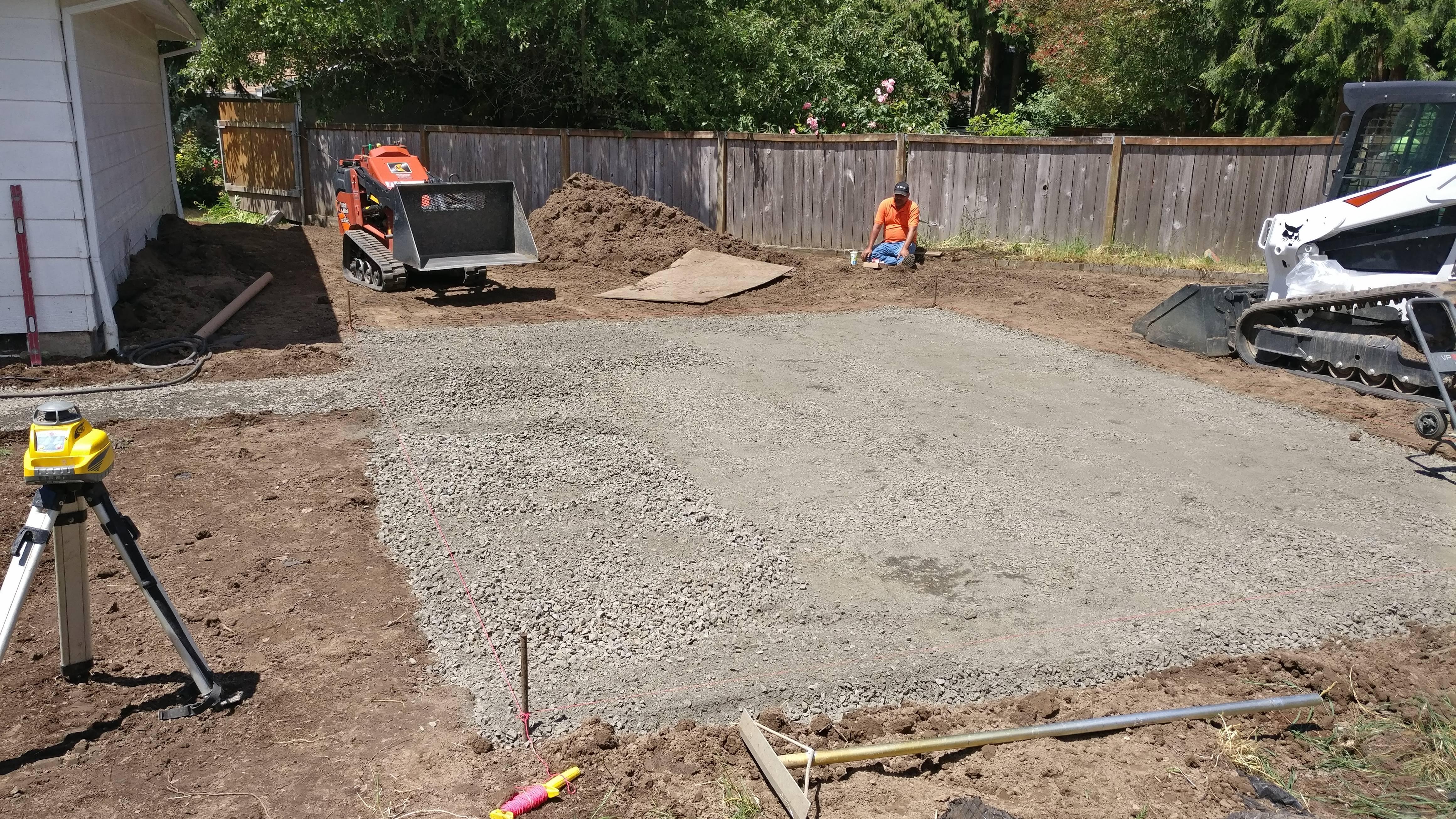 Hardscaping Site Preparation in Hillsboro