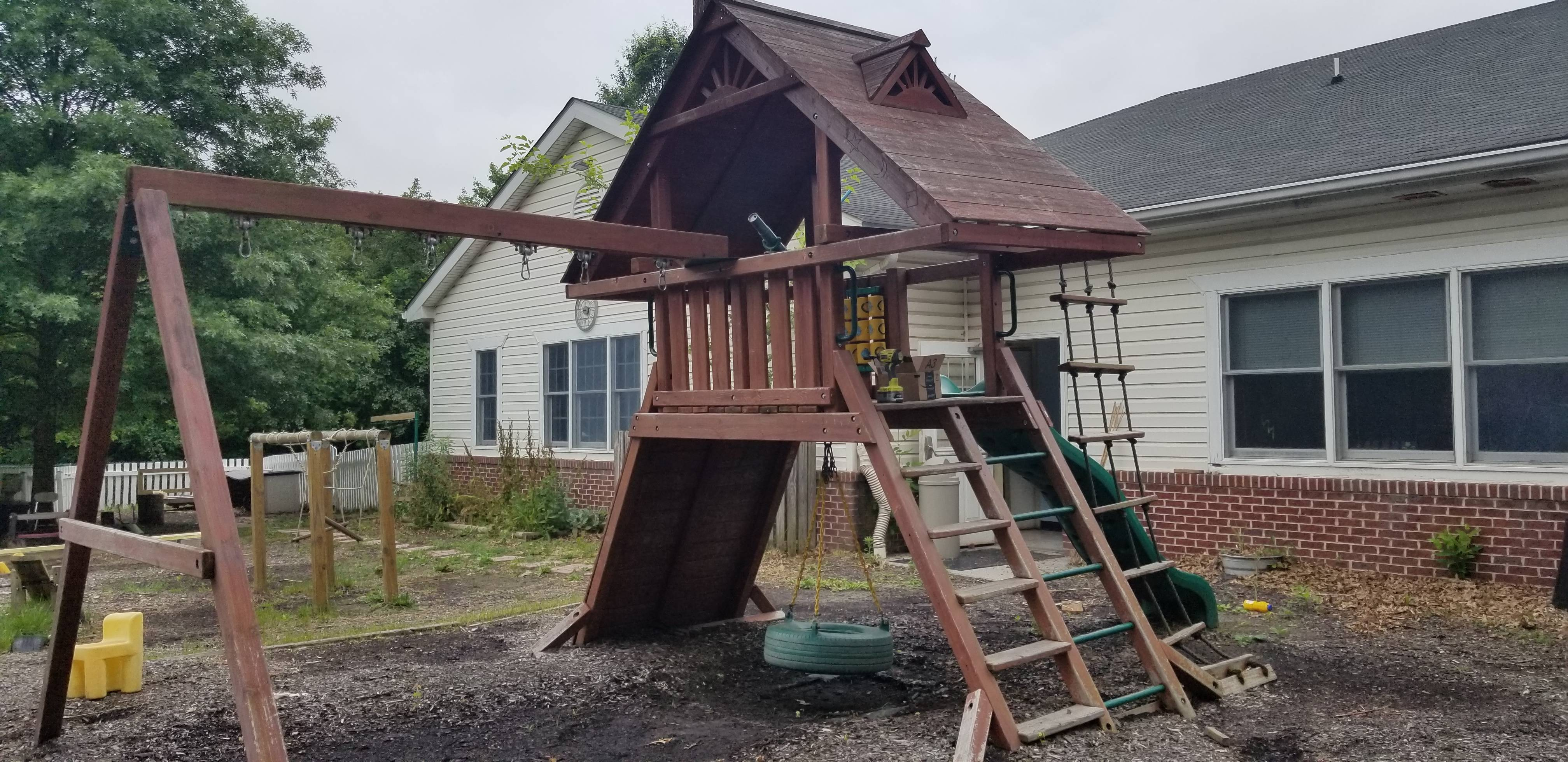 swing set installers in perry hall MD
