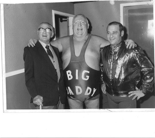Jack Pye, Big Daddy and Tony Francis