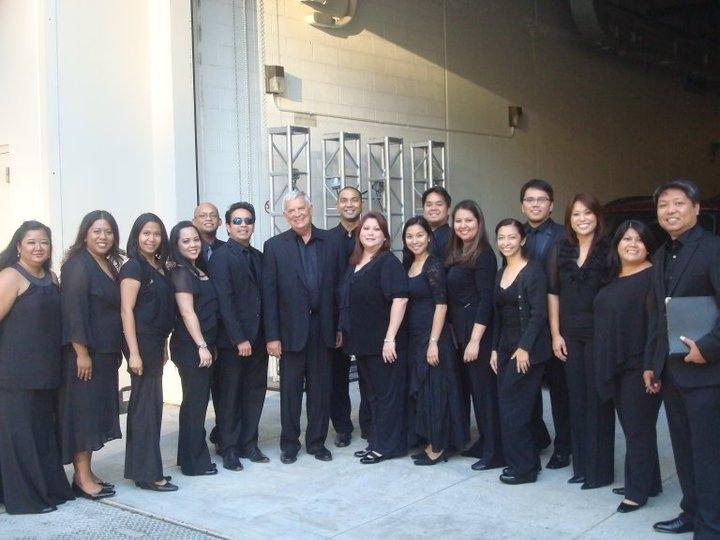 With Maestro John Alexander