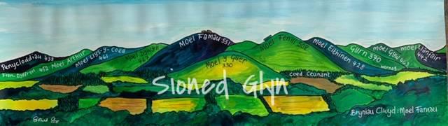 Bryniau Clwyd :Moel Famau