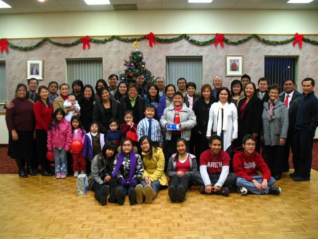 Christmas Fellowship Service December 2008