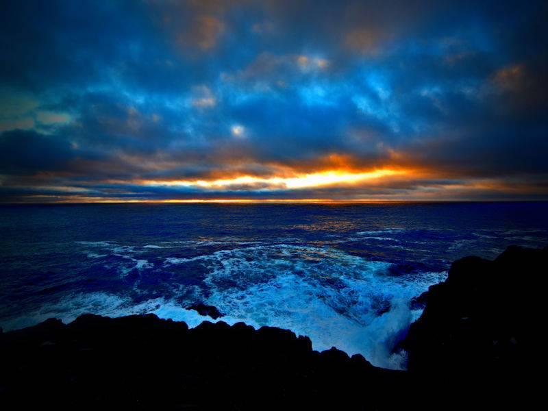 First Sunrise in North America