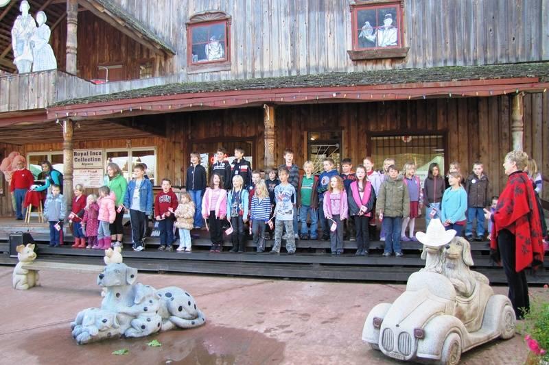 Errington & French Creek School Choir