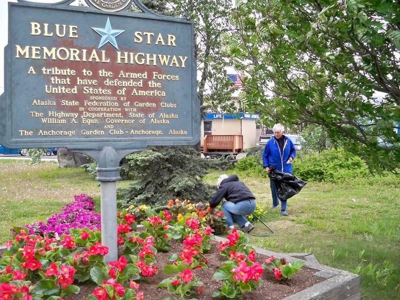 Anchorage Blue Star Marker