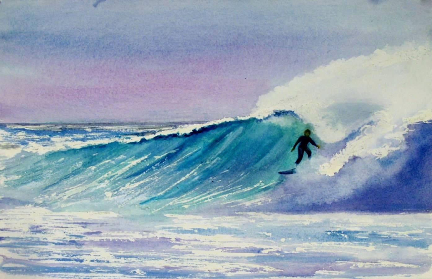 Big Wave Ride