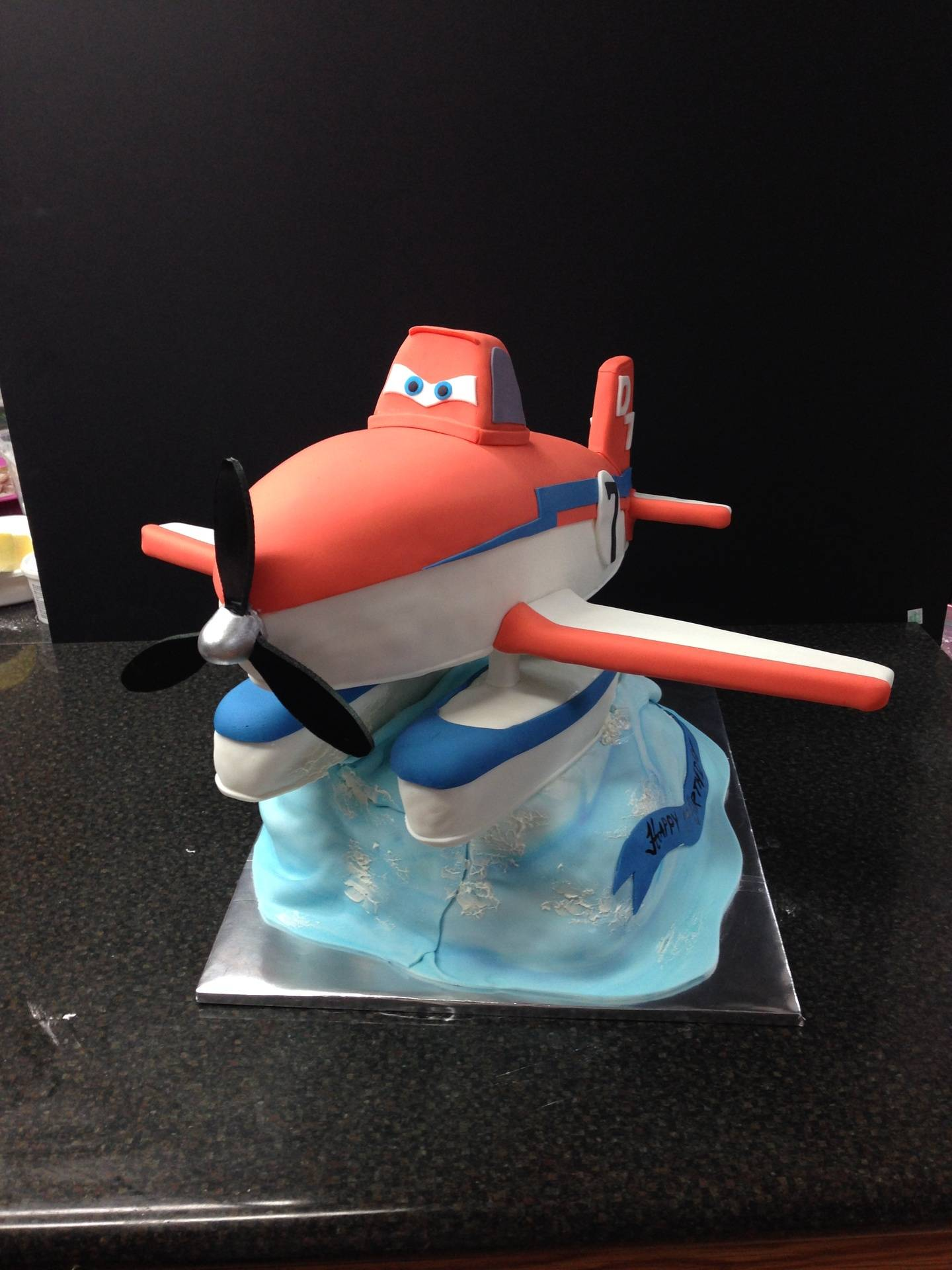 Disney Planes Fire & Rescue Cake