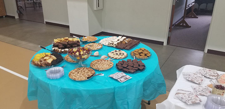 Let there be cake and cookies