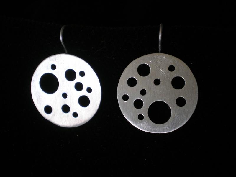 Custom fibonacci earrings