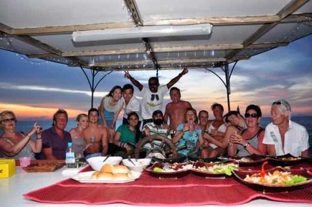 Langkawi Charter Yacht Sunset Party