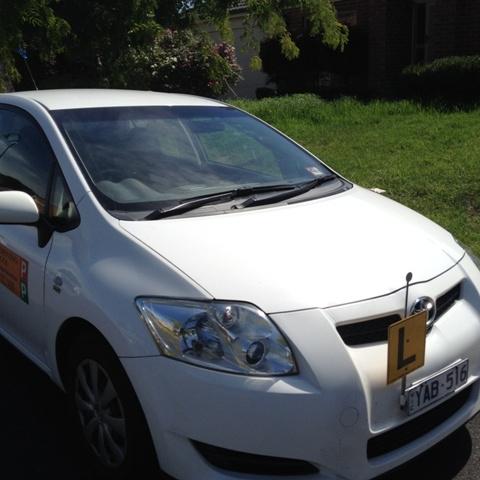 Driving School Ferntree Gully - Toyota Corolla Seca Hatch - Automatic