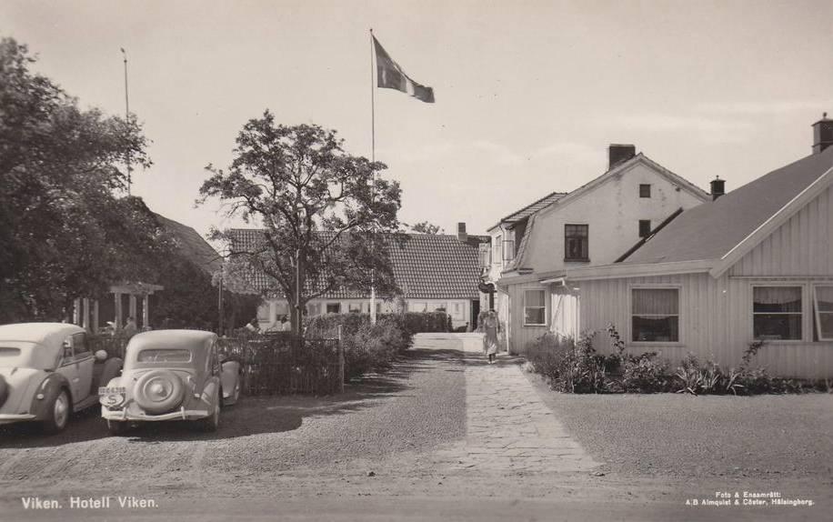 Vikens hotell 1945
