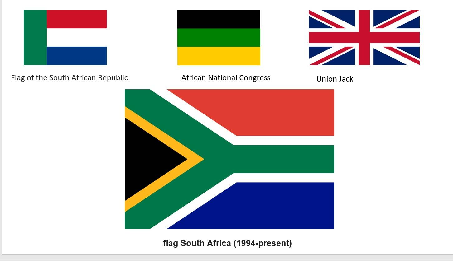 South Africa Flags Activity