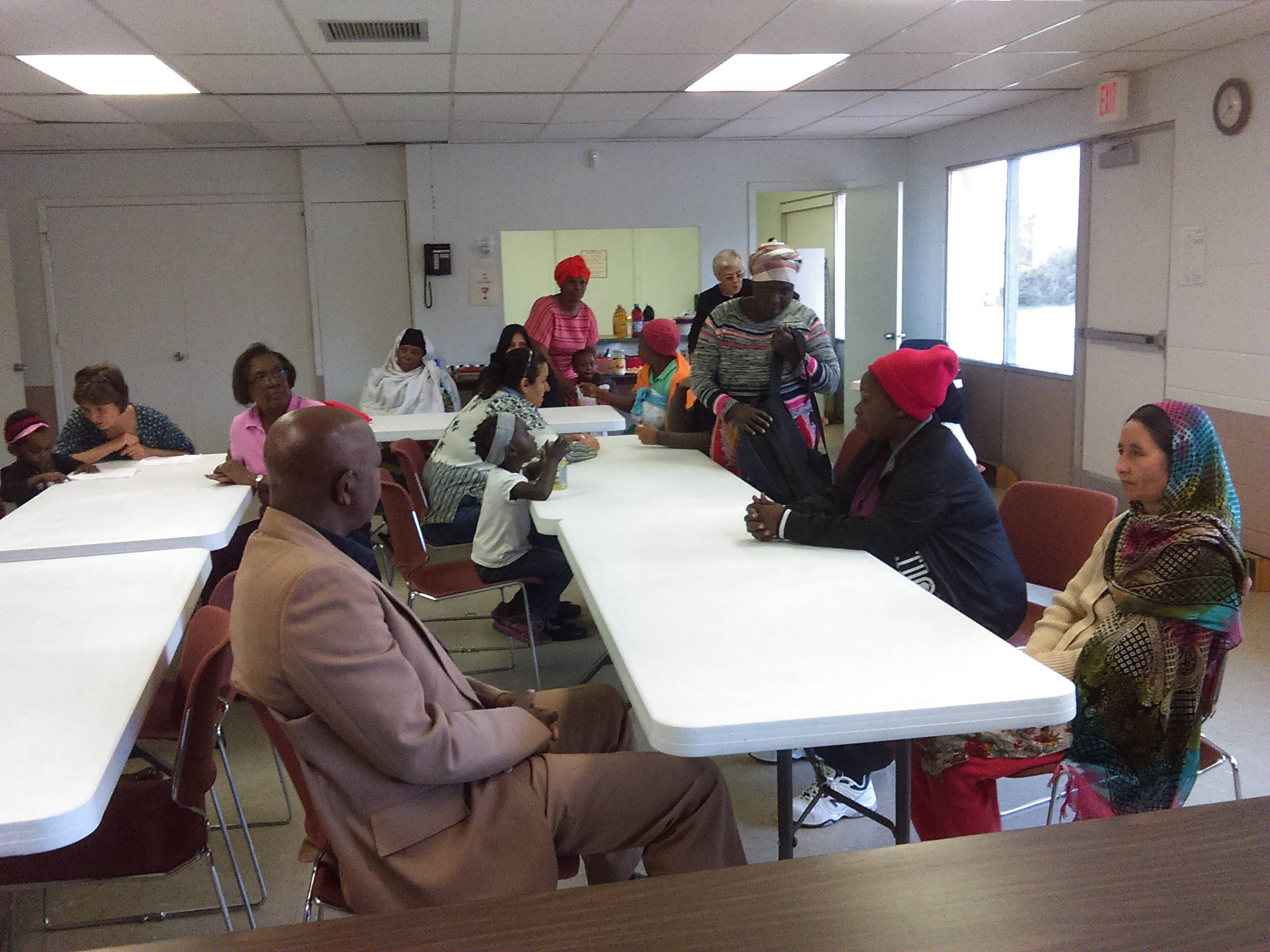 Social Gatherings at New Mexico Women's Global Pathways