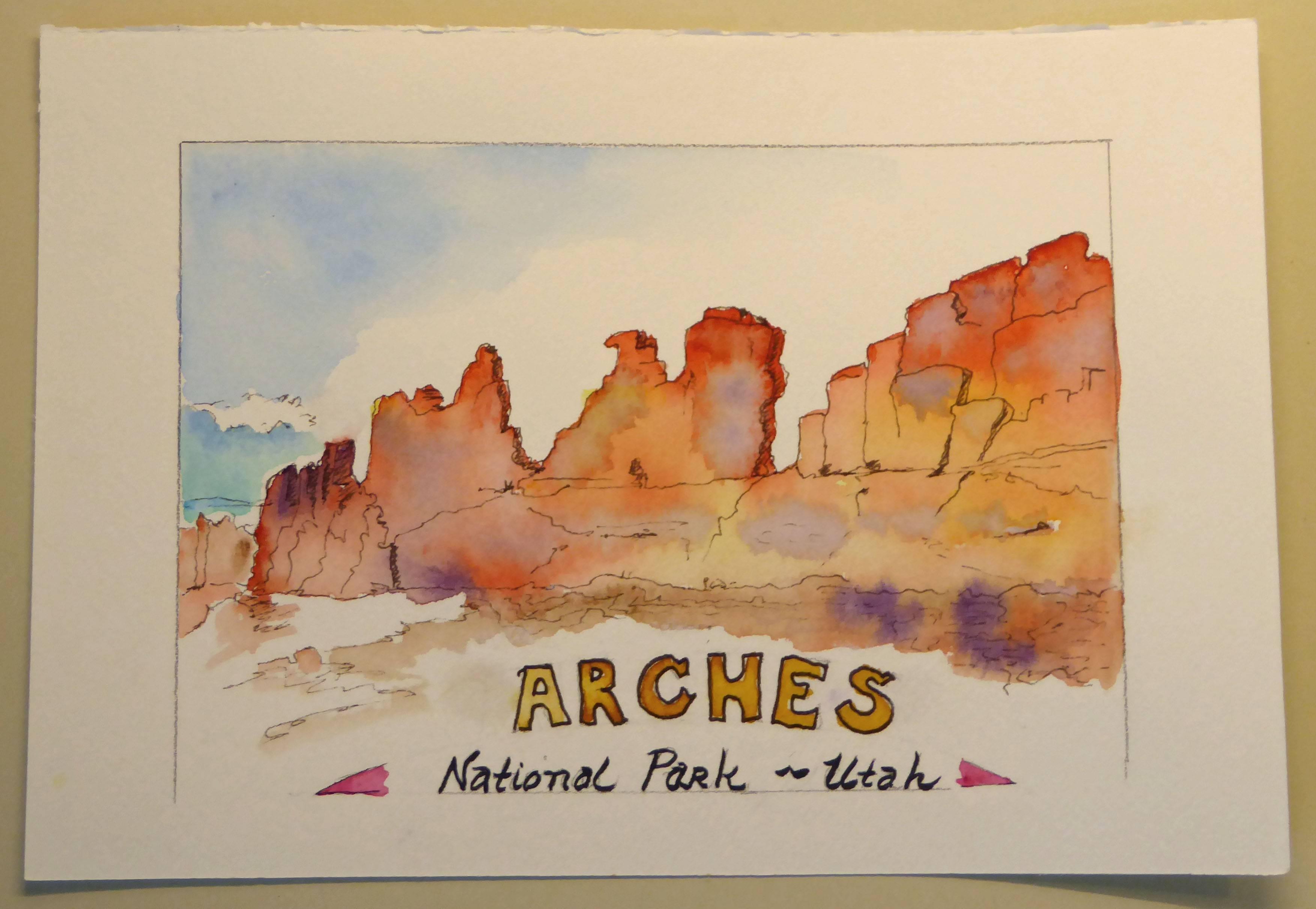 Arches NP Ridge
