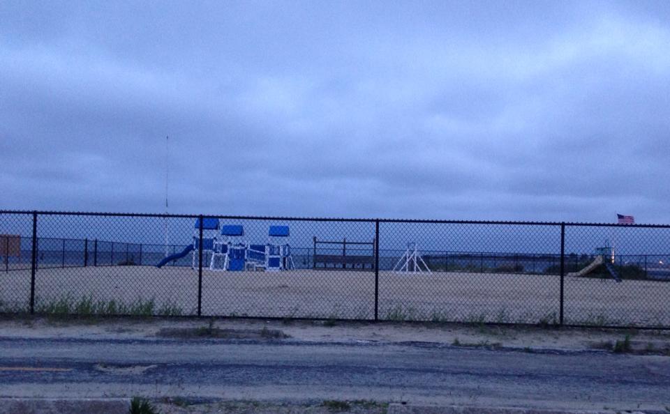 More beach construction
