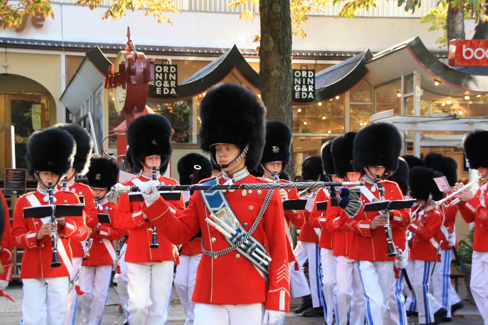 Changing of Guard, Copenhagen, Denmark