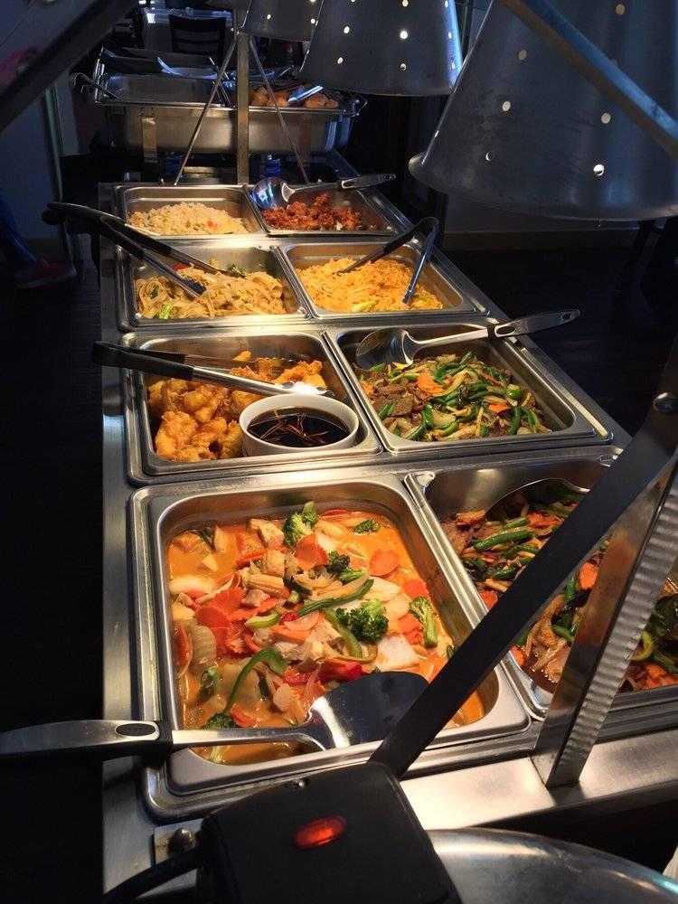 Lunch buffet Mon - Fri 11:00 - 03:00