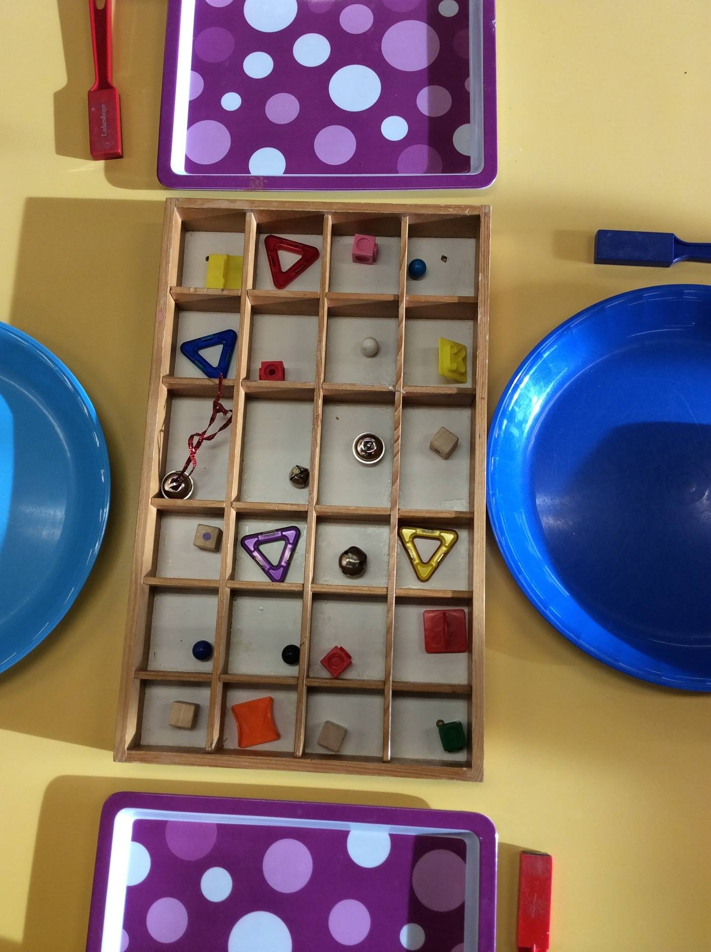 Magnets and sorting