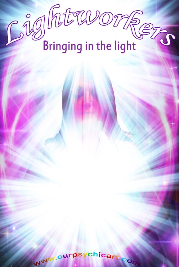 Lightworkers bringing in the light
