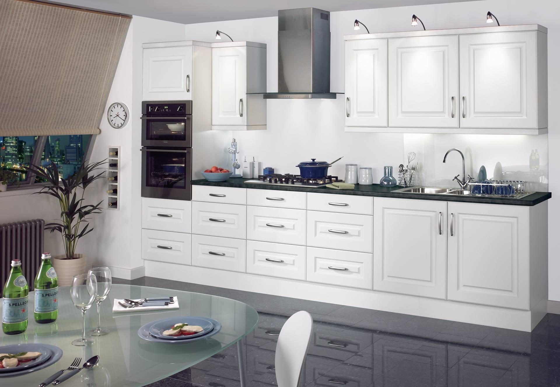 ECO REVIVA WHITE KITCHEN