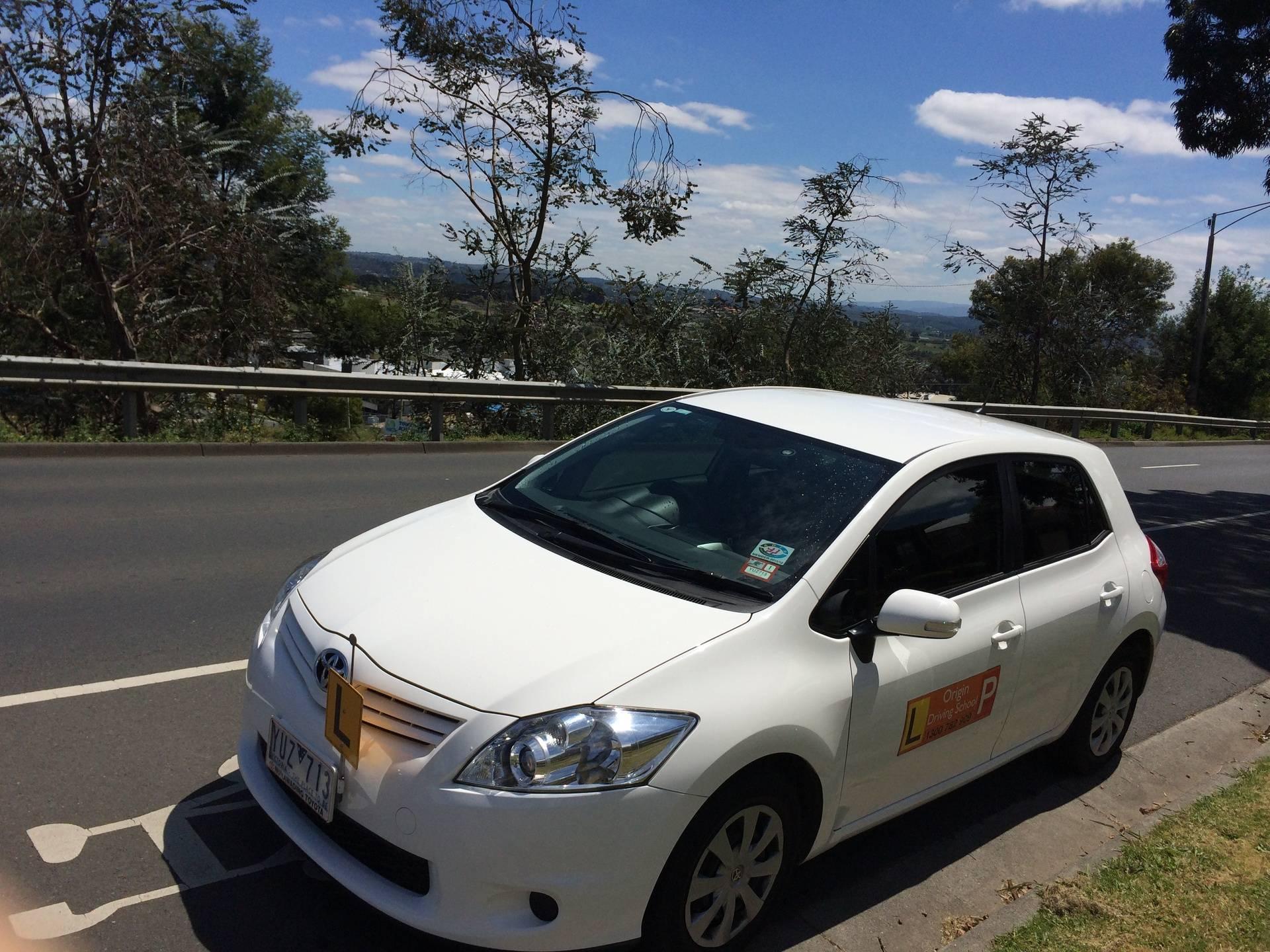 Driving School Croydon - Toyota Corolla Hatch -  Automatic Transmission
