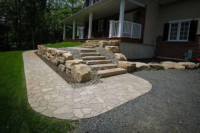 flagstone look pavers