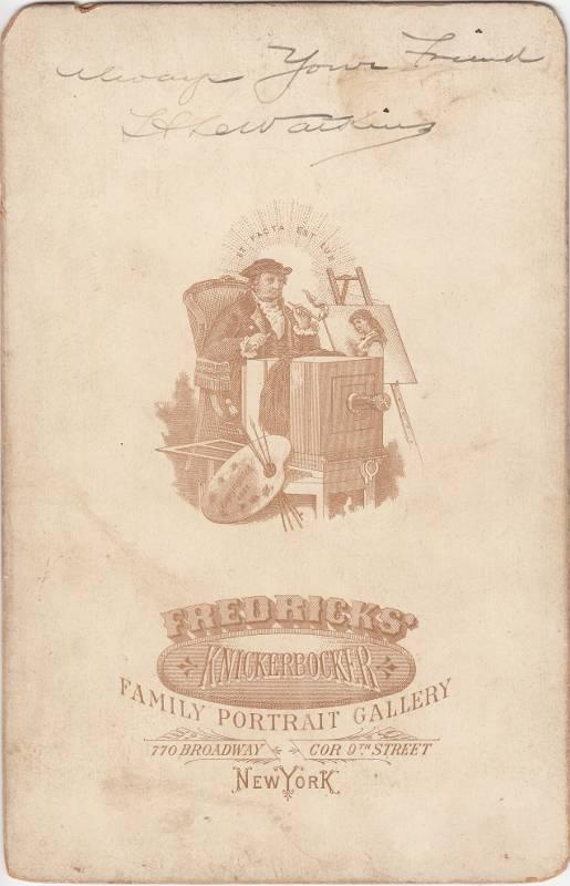 Fredricks, photographer of New York, NY