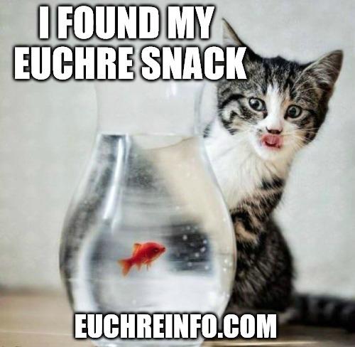 I found my Euchre snack.