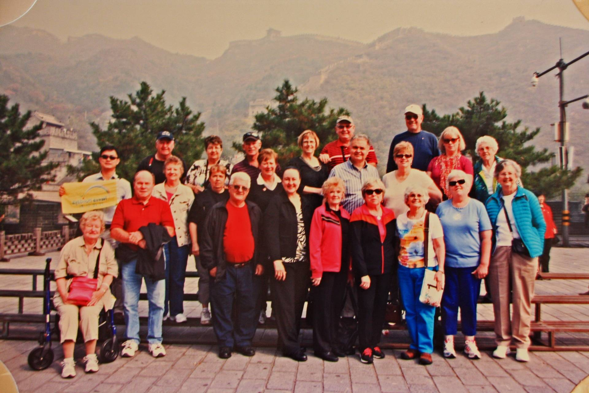Our Tour Group at Great Wall of China in Beijing