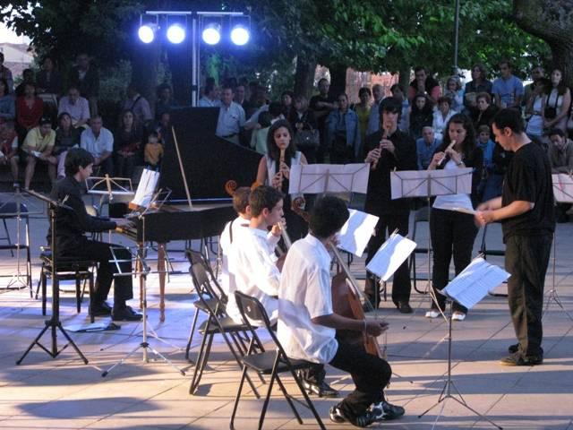 Ensemble de MUSICA antigua en el concierto de clausura