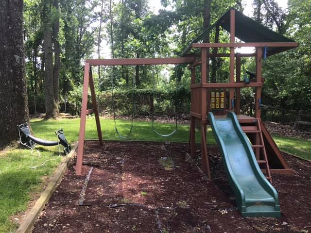 swing set installers in poolesville MD