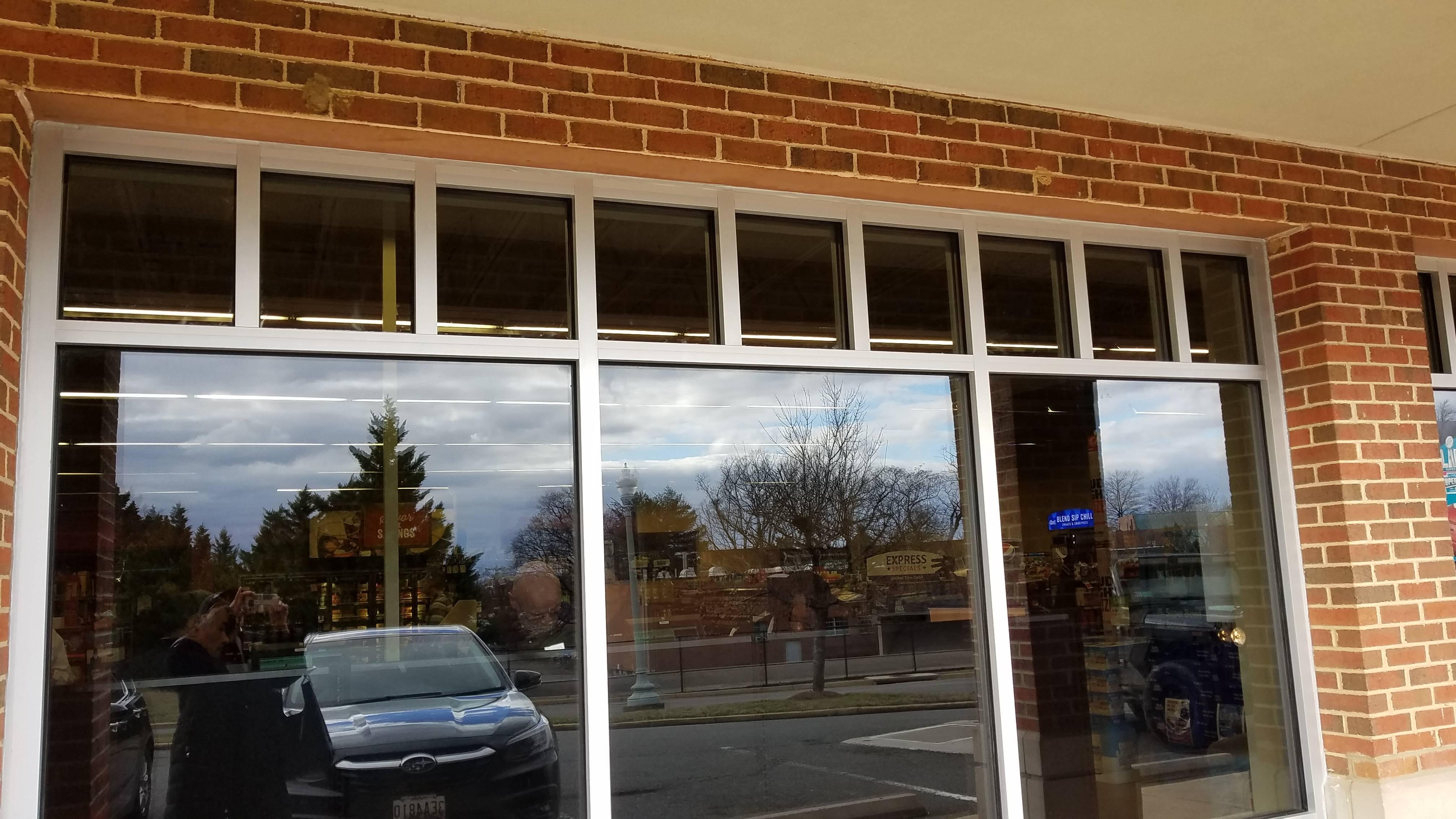 Shoppette Window After