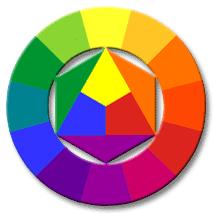 Brighter color wheel