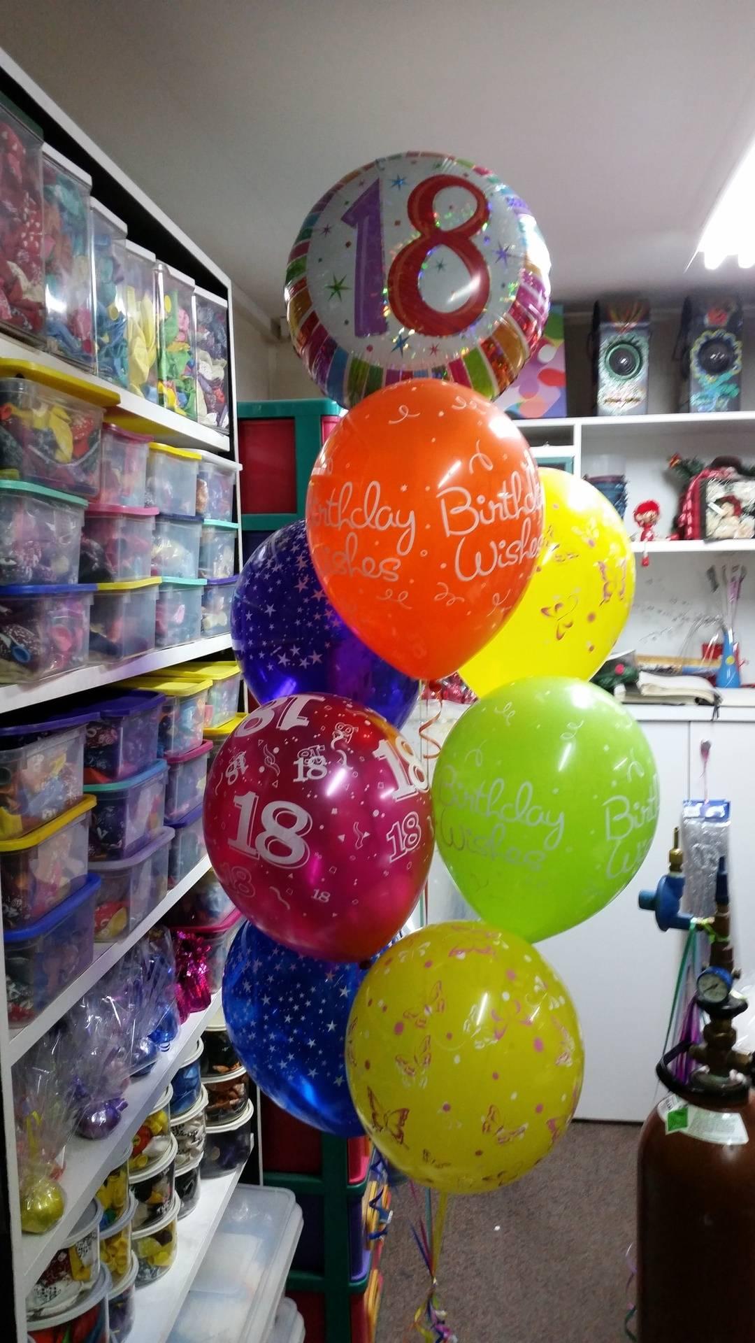 Birthday Balloon Bouquet Helium