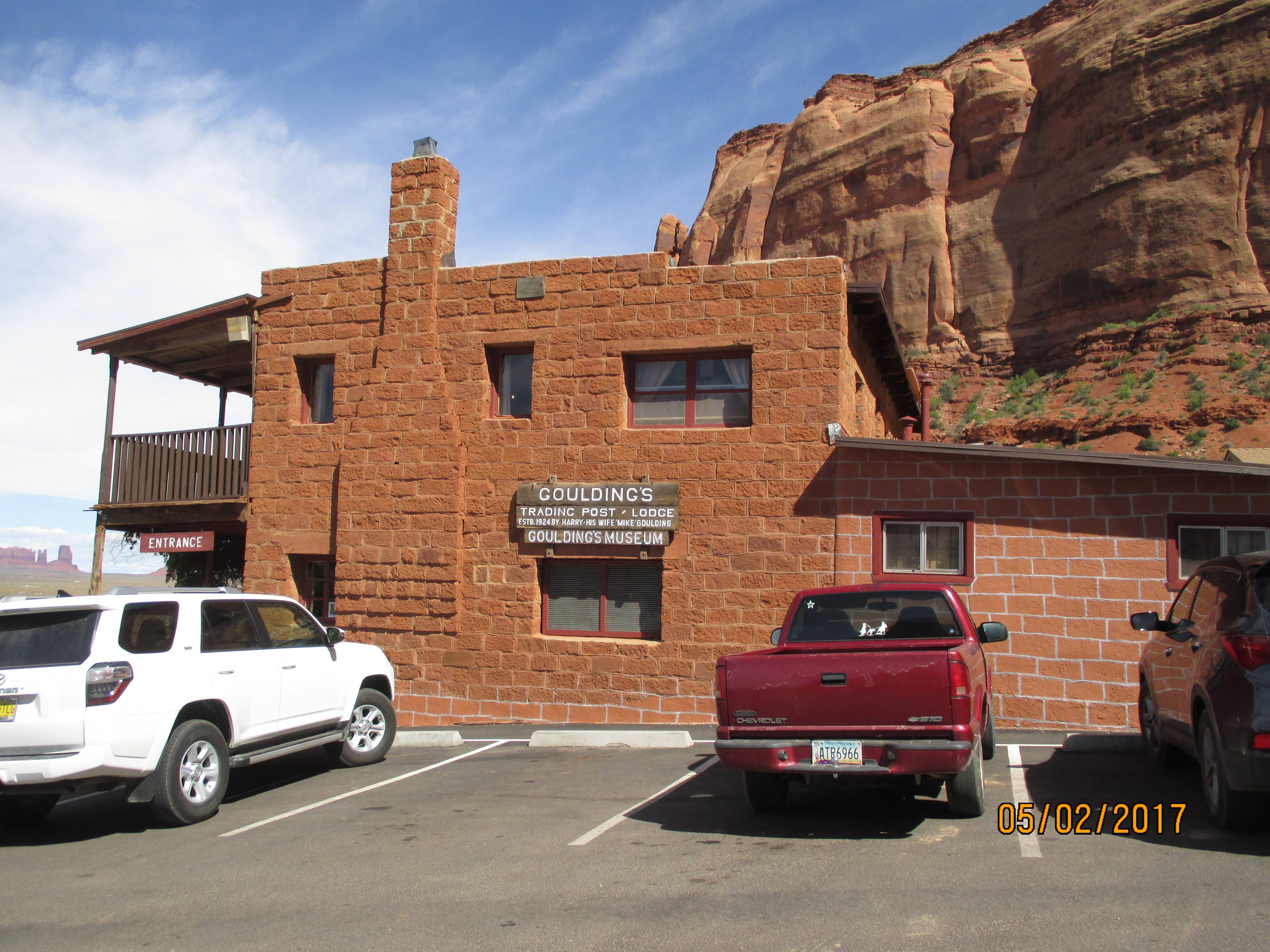 Goulding's Old Trading Post