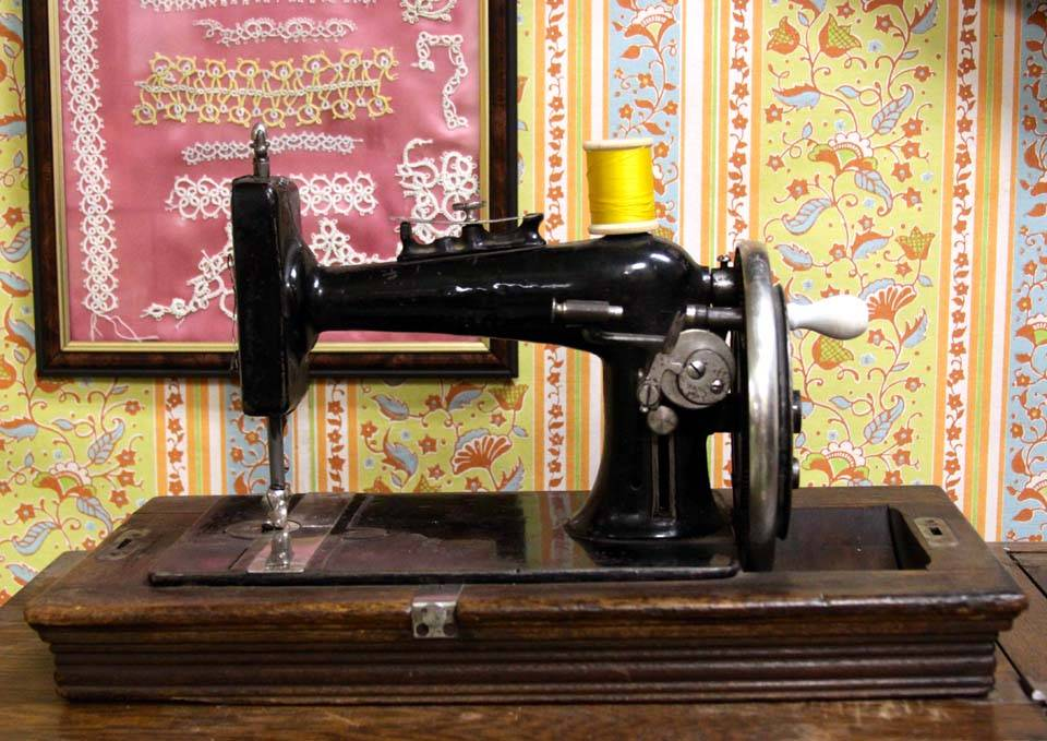 Mennonite Sewing Machine