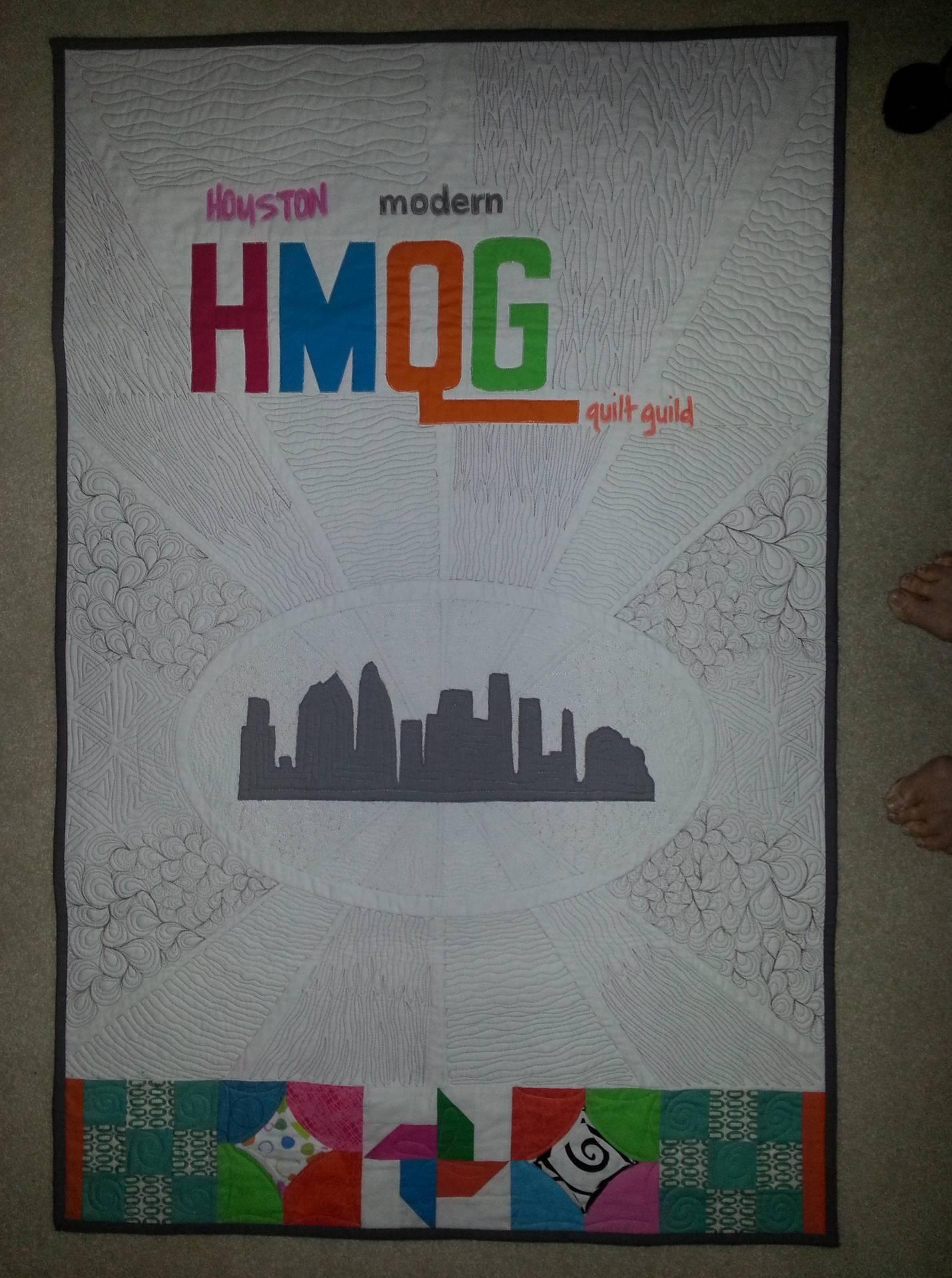 Houston Modern Quilt Guild Banner