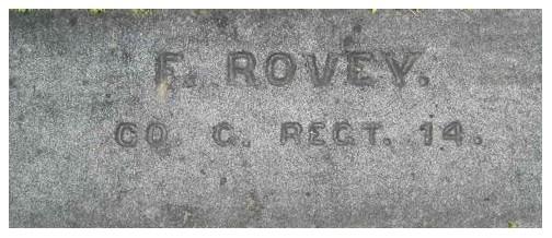 ROVEY, F. - Co. C