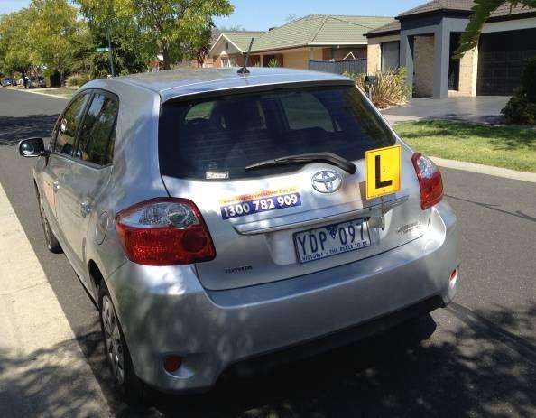 Driving School Malvern - Toyota Corolla Hatch  - Automatic Transmission