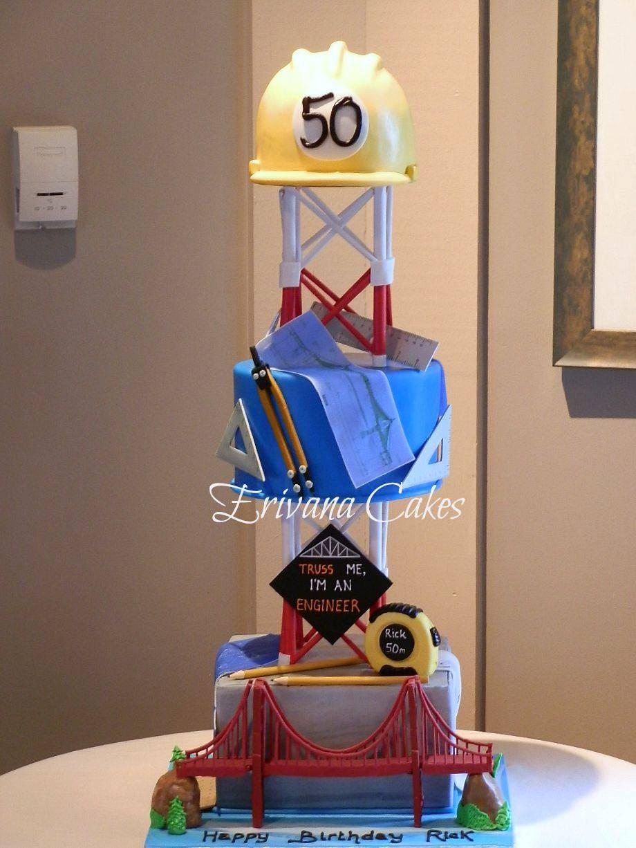 Civil Engineer cake