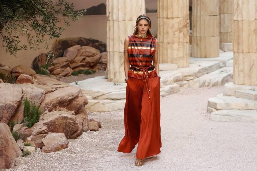 My Greece is an idea, said Lagerfeld